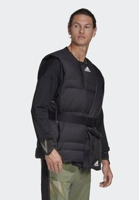 adidas Performance - URBAN COLD RDY OUTDOOR VEST - Waistcoat - schwarz