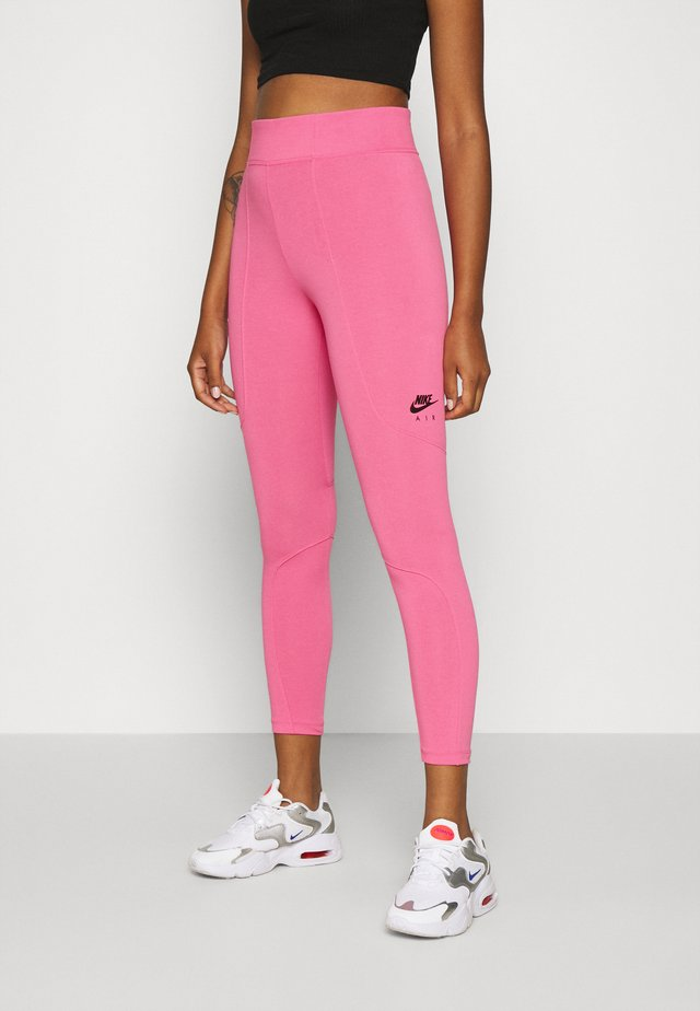 Leggings - Trousers - pinksicle/black