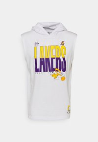 Outerstuff - NBA LOS ANGELES LAKERS SPACE JAM 2 TEAM DOWN THE COURT TANK - Club wear - white - 4