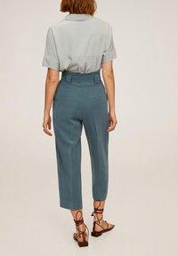 Mango - LOL - Spodnie materiałowe - green - 1
