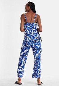 Desigual - PACIFIC OCENA - Tuta jumpsuit - blue - 1