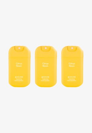 HAAN 3 PACK HAND SANITIZER - Bath and body set - citrus noon
