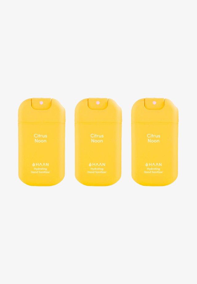 HAAN 3 PACK HAND SANITIZER - Bad- & bodyset - citrus noon