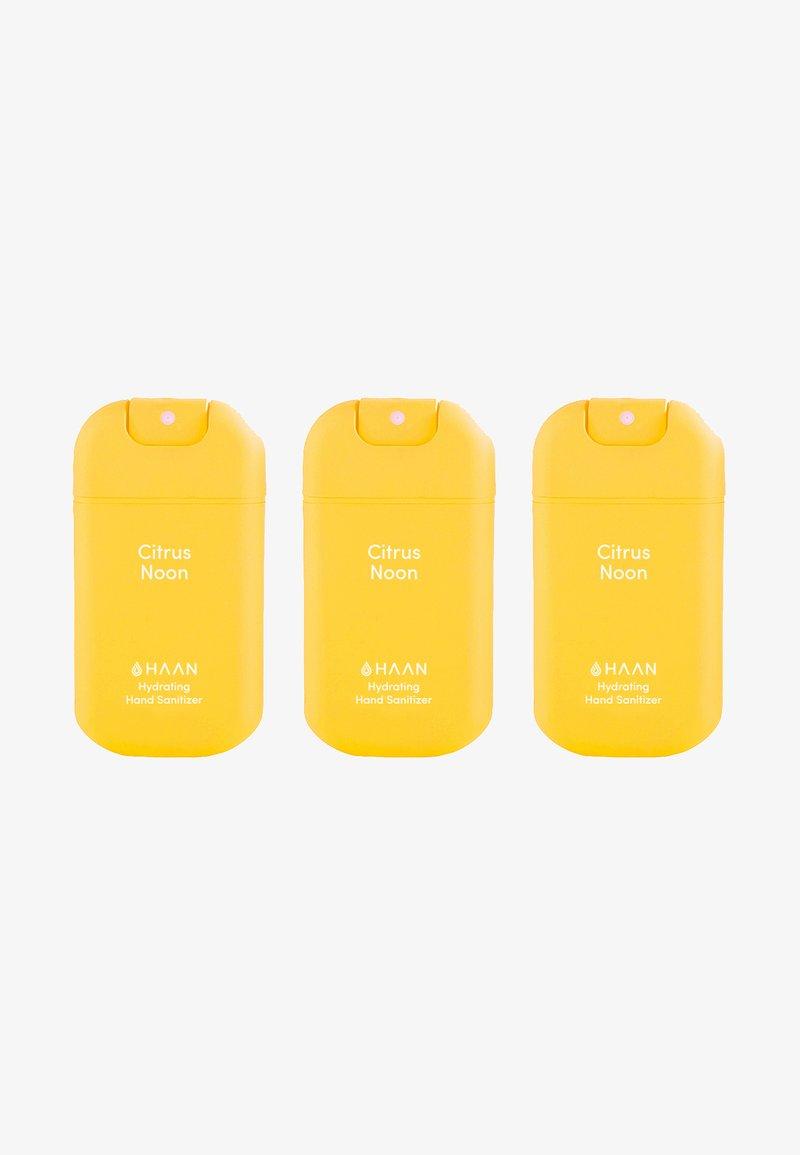 Haan - HAAN 3 PACK HAND SANITIZER - Bad- & bodyset - citrus noon