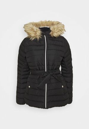 BELTED CORE PUFFER - Light jacket - black