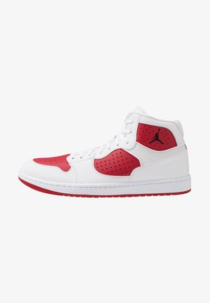 JORDAN ACCESS - Sneakersy wysokie - white/black/gym red