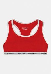Calvin Klein Underwear - 2 PACK - Bustier - white/rapid red - 2