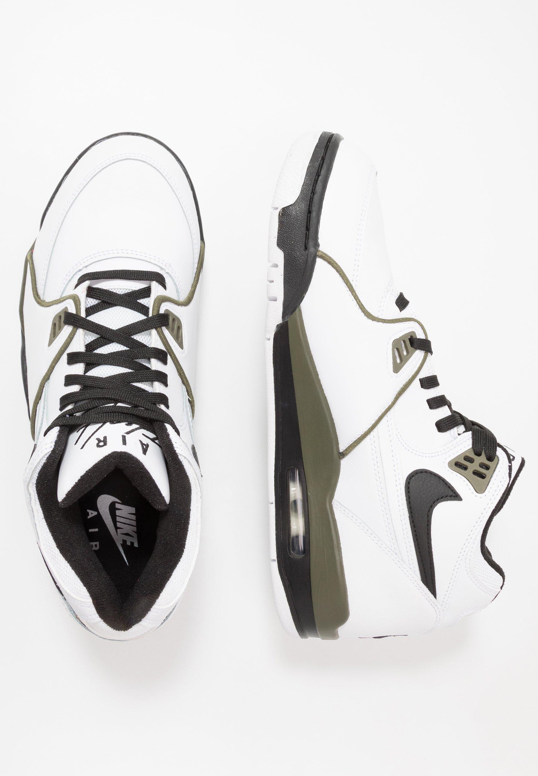 Nike Sportswear AIR FLIGHT 89 Høye joggesko whiteblack
