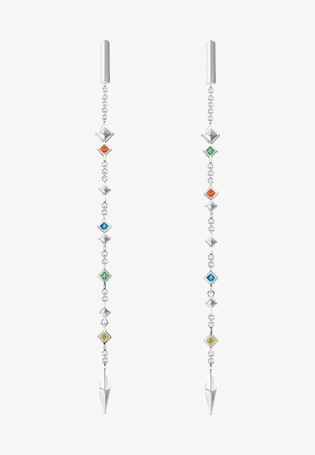 Øreringe - silver coloured
