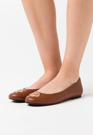 VALENCIAO  - Ballet pumps - toffee