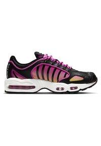 Nike Sportswear - AIR MAX TAILWIND - Sneakersy niskie - black/fire pink/dynamic yellow/white - 5