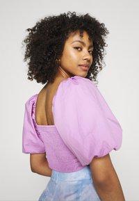 Gina Tricot - LEAH - Print T-shirt - light purple - 2