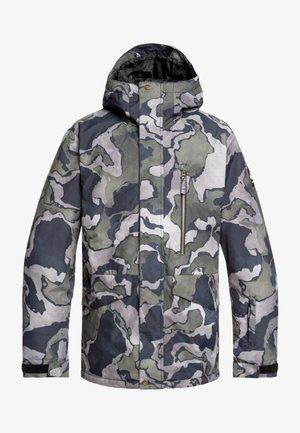 MISSION  - Snowboard jacket - mottled anthracite