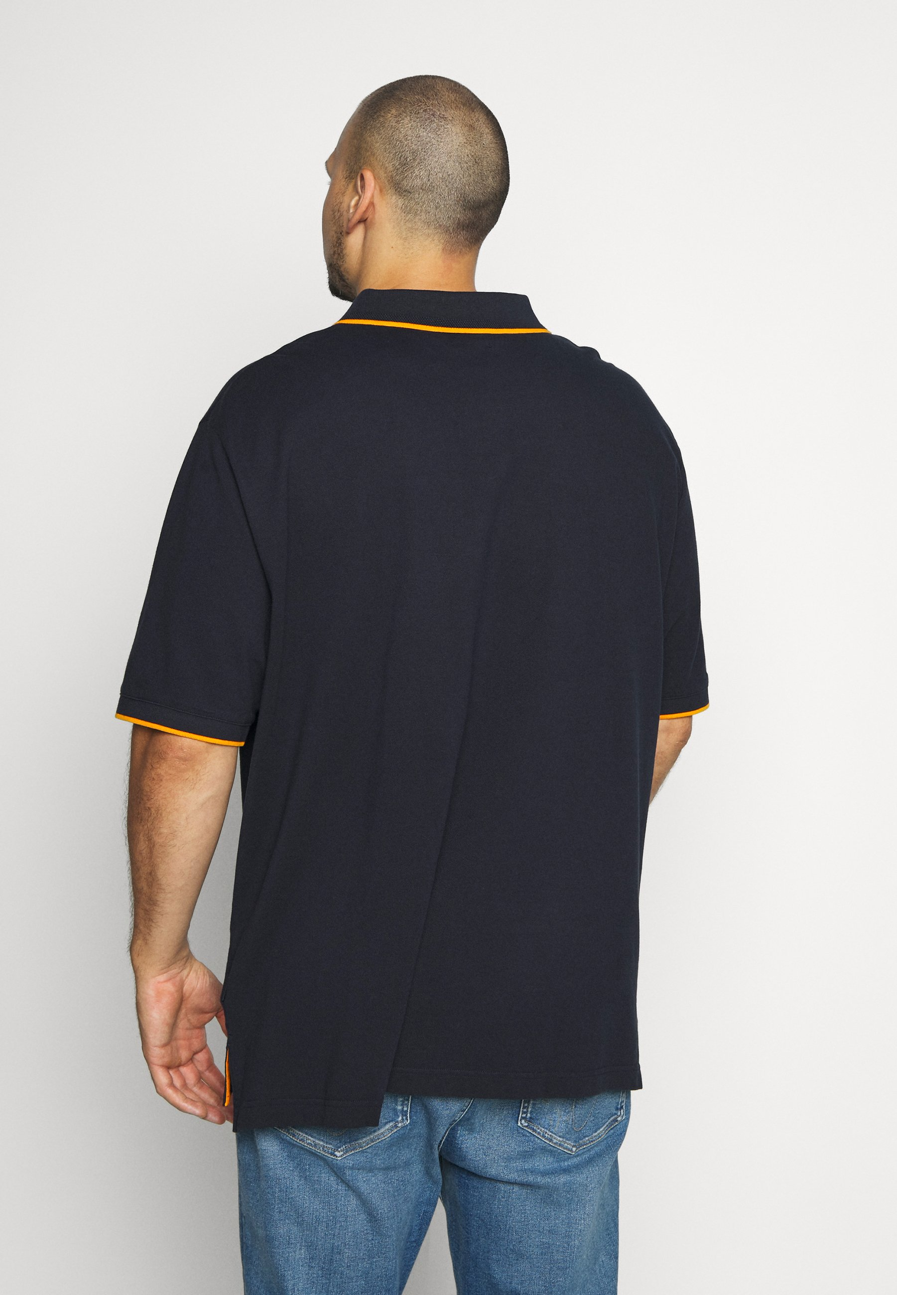 Calvin Klein STRETCH TIPPING - Polo - blue