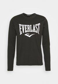 Everlast - TEE DUVALLE - Top sdlouhým rukávem - black - 0