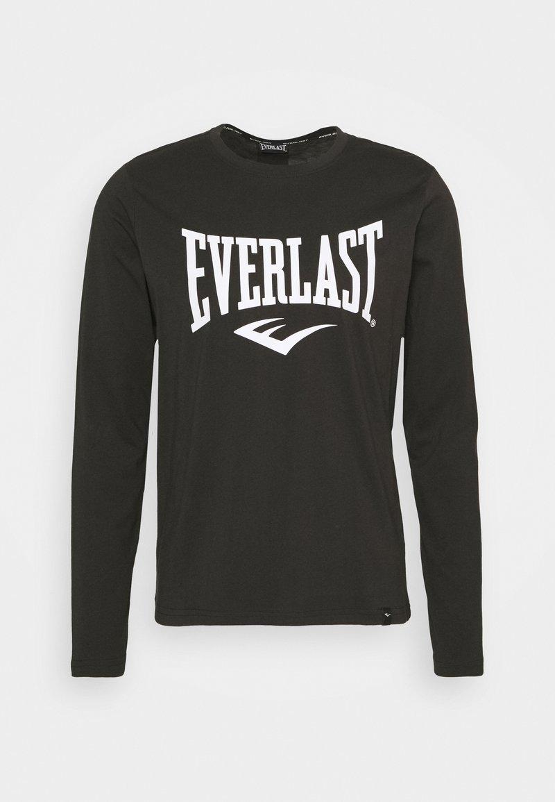 Everlast - TEE DUVALLE - Top sdlouhým rukávem - black