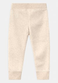 GAP - TODDLER GIRL LOGO - Trousers - mottled beige - 1