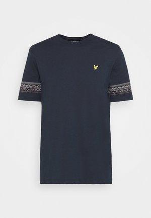 FAIRISLE - Print T-shirt - dark navy