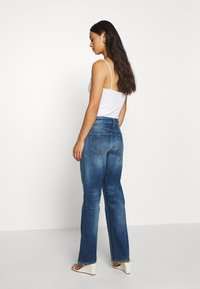 G-Star - CODAM HIGH KICK FLARE 7\8 WMN - Flared Jeans - faded cobalt - 2