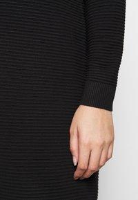 Kaffe Curve - KCBELL - Jumper dress - black deep - 5