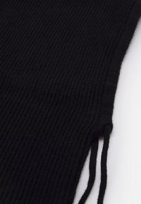 Pier One - STRICKKAPUZE / KNIT HOOD - Beanie - black - 2