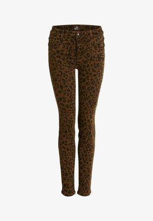 Jeans Skinny Fit - camel black