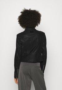 Guess - NEW KHLOE JACKET - Faux leather jacket - jet black - 2