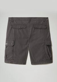 Napapijri - N-ICE CARGO - Shorts - dark grey solid - 7