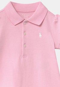 Polo Ralph Lauren - SOLID RUFFLE SET - Jersey dress - carmel pink - 3