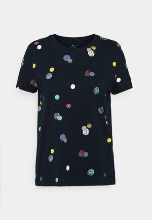 T-shirt z nadrukiem - navy