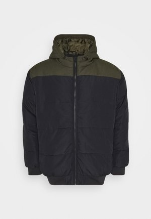 ONSBOSTON BLOCK  HOOD  - Winter jacket - dark navy/colourblock