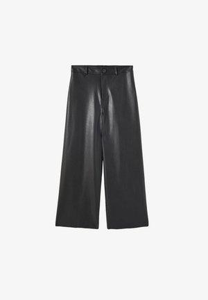 Trousers - mottled black