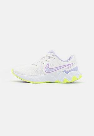 RENEW RIDE 2 - Zapatillas de running neutras - summit white/lilac/pure violet/volt glow/deep royal blue/white