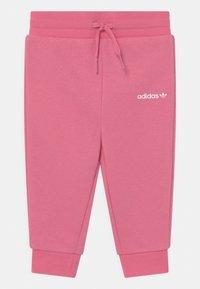 adidas Originals - HOODIE SET UNISEX - Zip-up sweatshirt - rose tone - 2