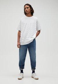PULL&BEAR - T-shirt - bas - white - 1