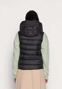 Marc O'Polo - RECYCLED VEST FIX HOOD STAND UP COLL - Vesta - black - 2