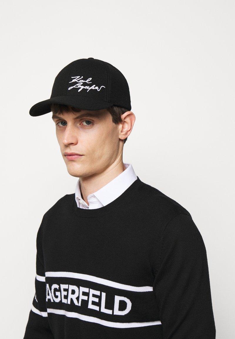 KARL LAGERFELD - UNISEX - Cap - black