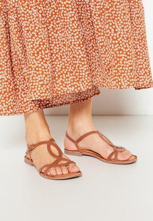 NAVASSA - Sandals - brown