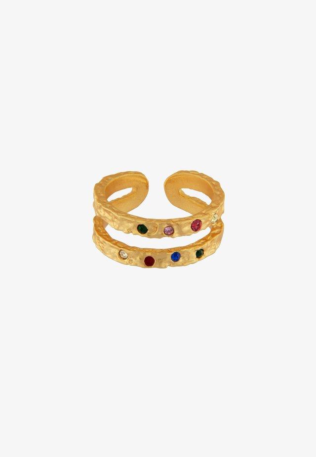 AMBER RAINBOW - Ring - gold plating