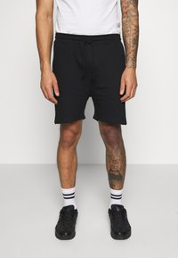 Another Influence - RELAXED FIT  - Tracksuit bottoms - black - 0