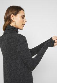 Even&Odd - Jumper dress - mottled grey - 3