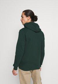 Lyle & Scott - ZIP THROUGH HOODIE - Zip-up sweatshirt - dark green - 2