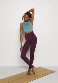Even&Odd active - Legging - purple - 1