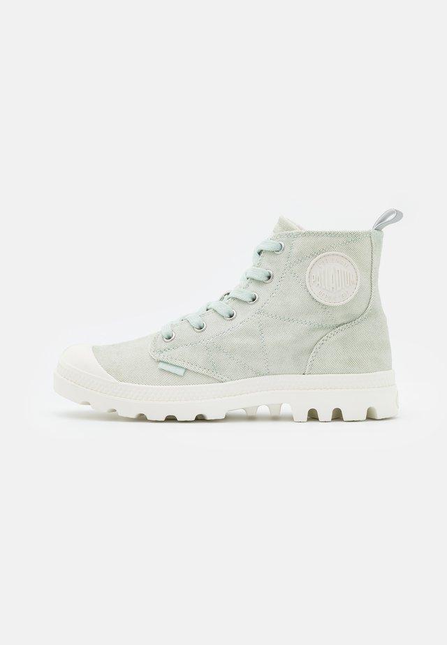 PAMPA ZIP DESERTWASH - Boots à talons - whisper green