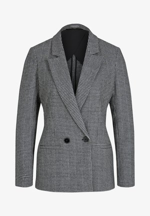 Blazer - black grey houndstooth design