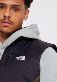 The North Face - ACONCAGUA VEST - Bodywarmer - black / new taupe green - 4