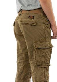 Schott - TRRANGER - Cargo trousers - camel - 3