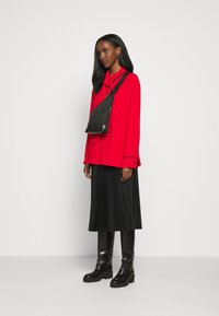 Mulberry - OTTILIE BLOUSE - Button-down blouse - bright red - 1