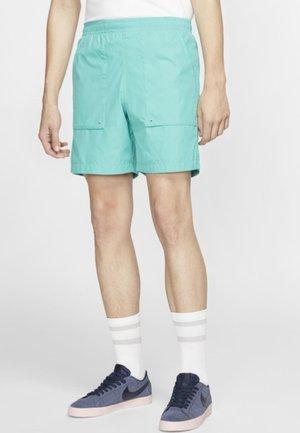Sports shorts - turquoise