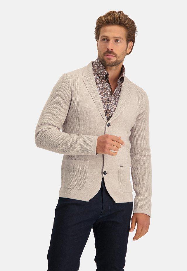 Vest - cream plain